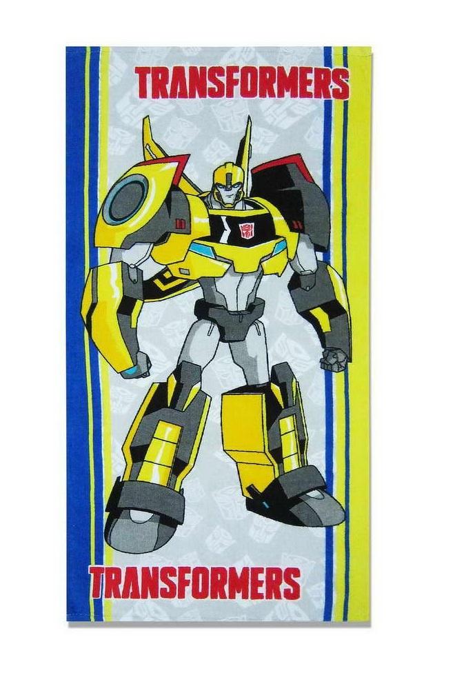 Полотенце детское Transformers 1088_01s, серый