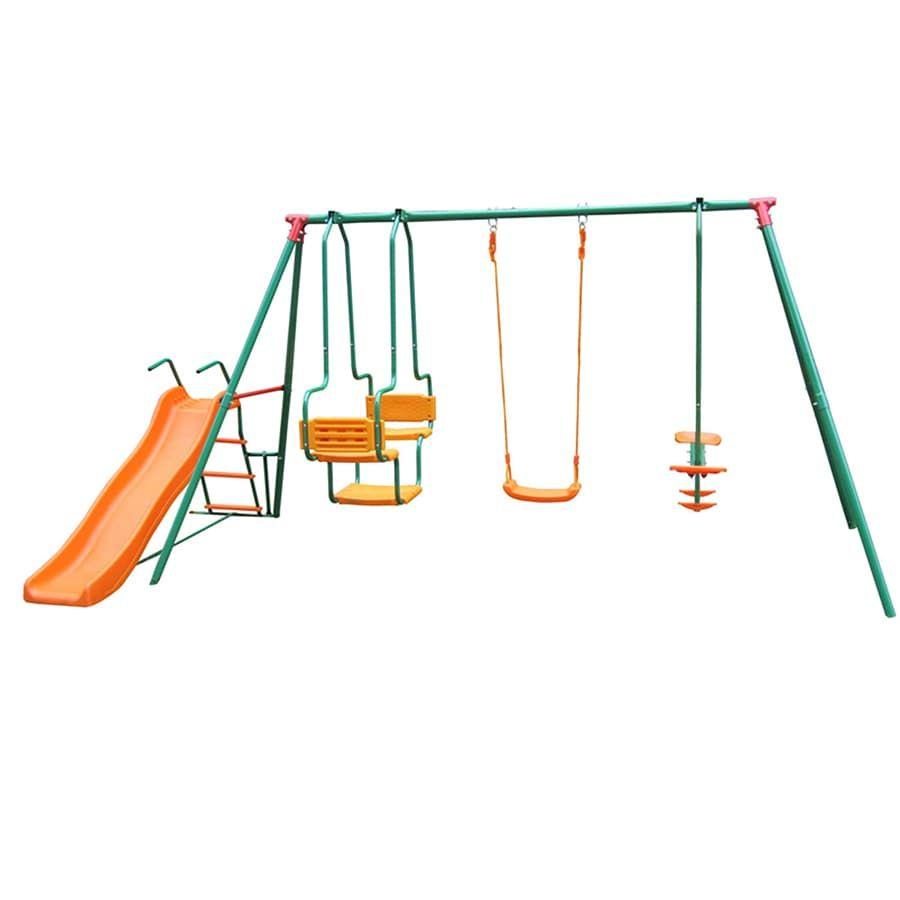 Игровой комплекс DFC MSGL-01 зеленый, оранжевый