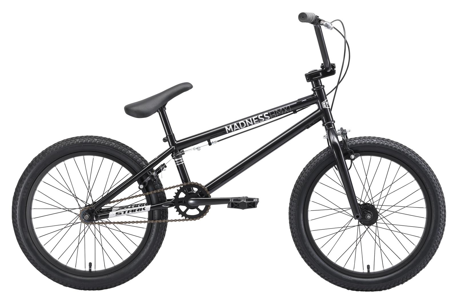 Велосипед Star Madness BMX 1 20 2019, черный, серый цена