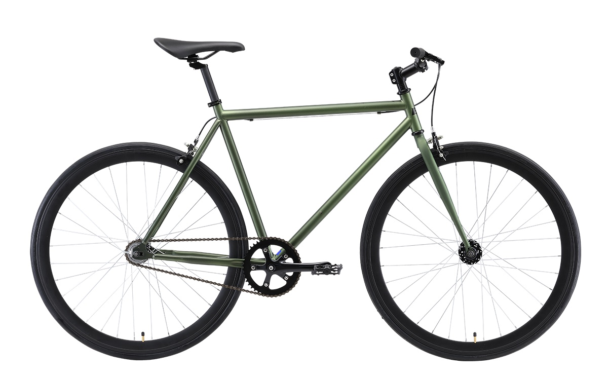 Велосипед Black One Urban 700, зеленый, черный цена