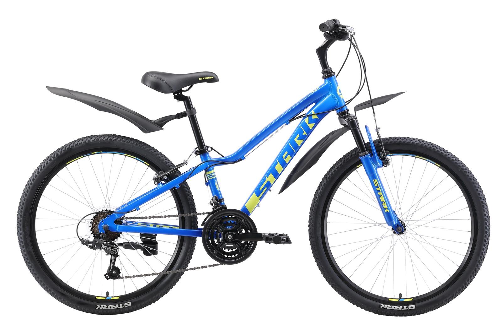 Велосипед Rocket 24.1 V 2019, голубой, зеленый