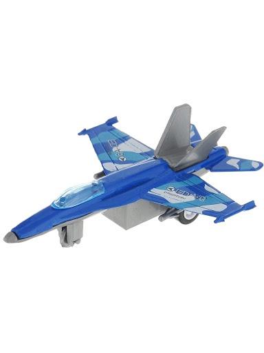 Самолет Город Игр GI-6439-синий