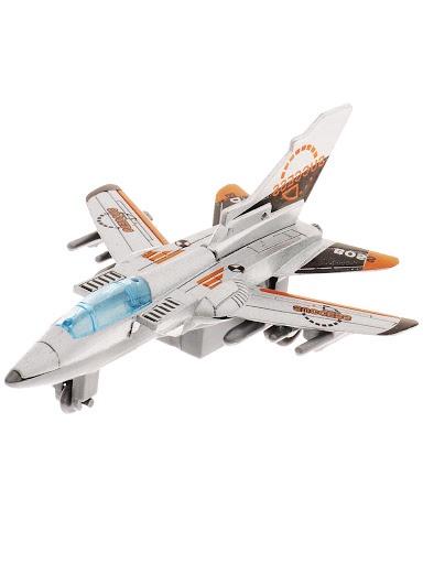 Самолет Город Игр GI-6439-серый