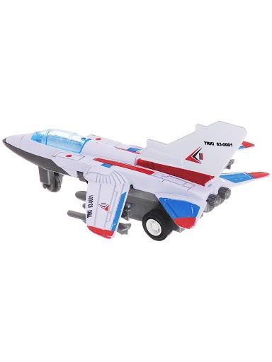 Самолет Город Игр GI-6439-бело-синий