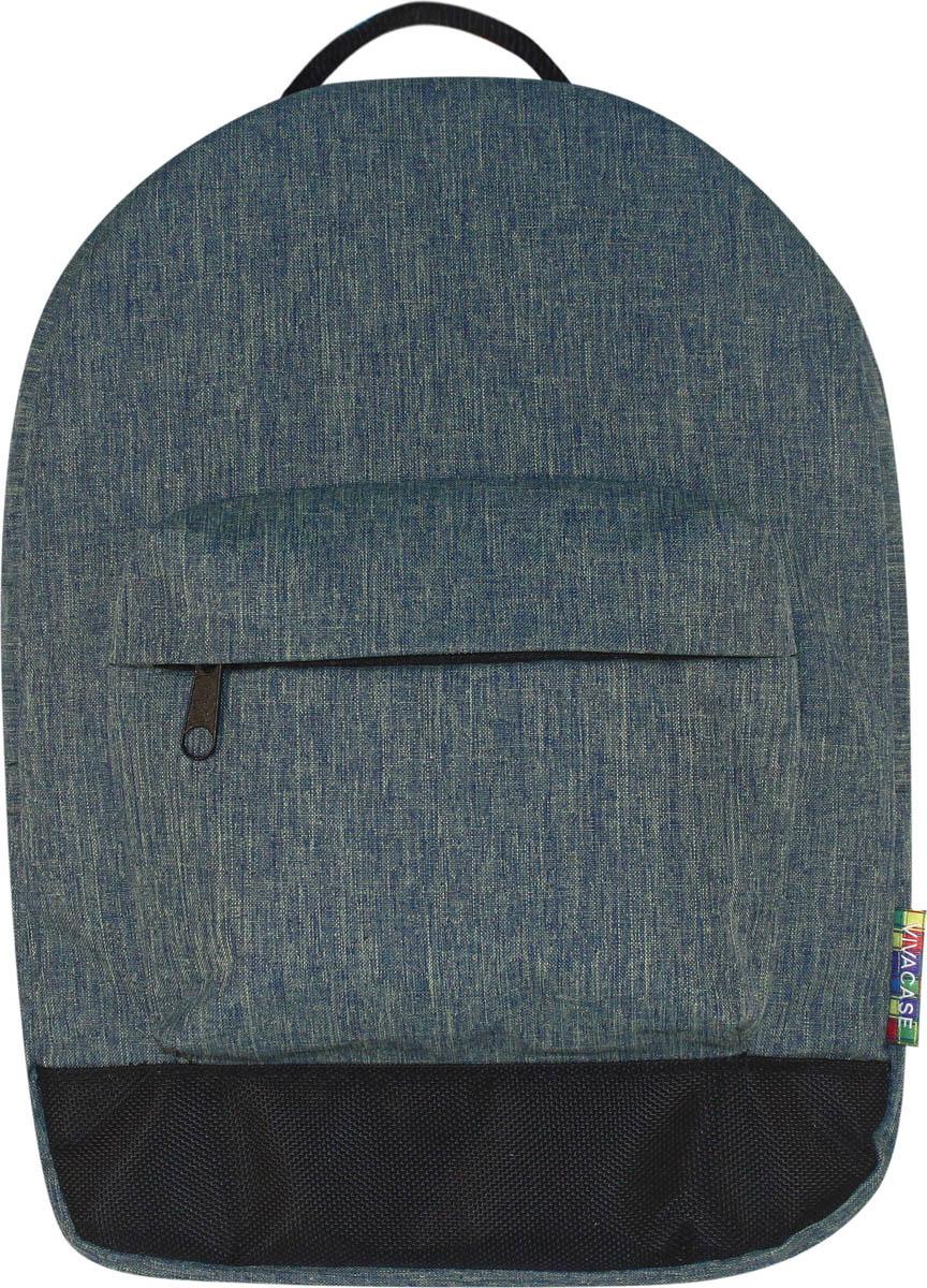 Рюкзак для ноутбука Vivacase Small School 12-13, цвет: джинс рюкзак из старых джинс
