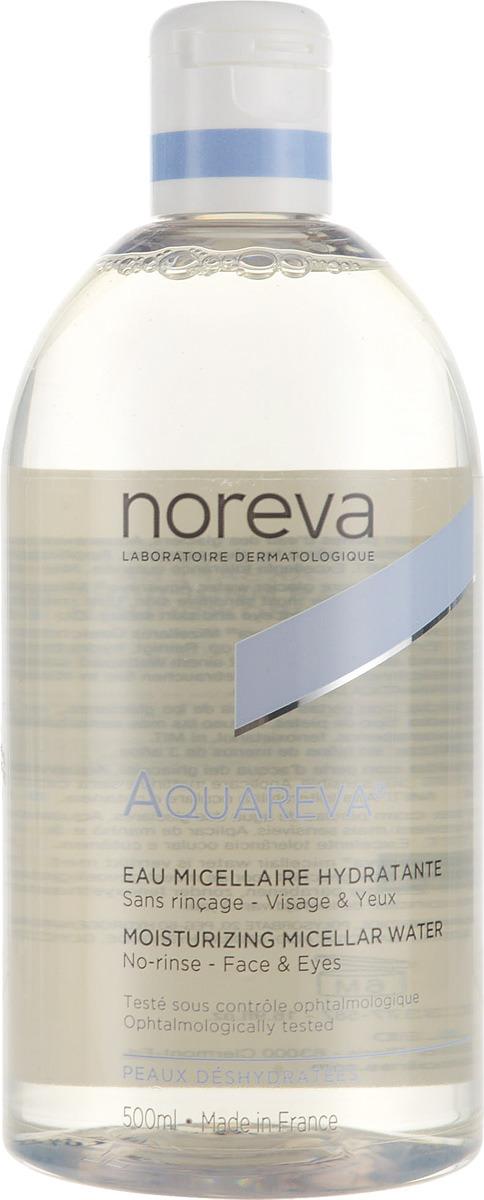 Вода мицеллярная Noreva Aquareva, для обезвоженной кожи, 500 мл