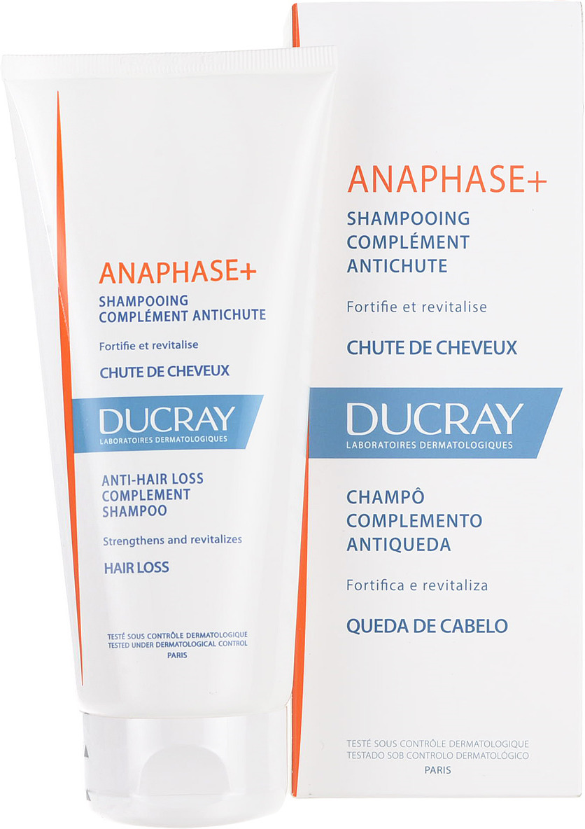 Ducray Анафаз+ Шампунь для ухода за ослабленными выпадающими волосами, 200 мл шампунь ducray anaphase купить