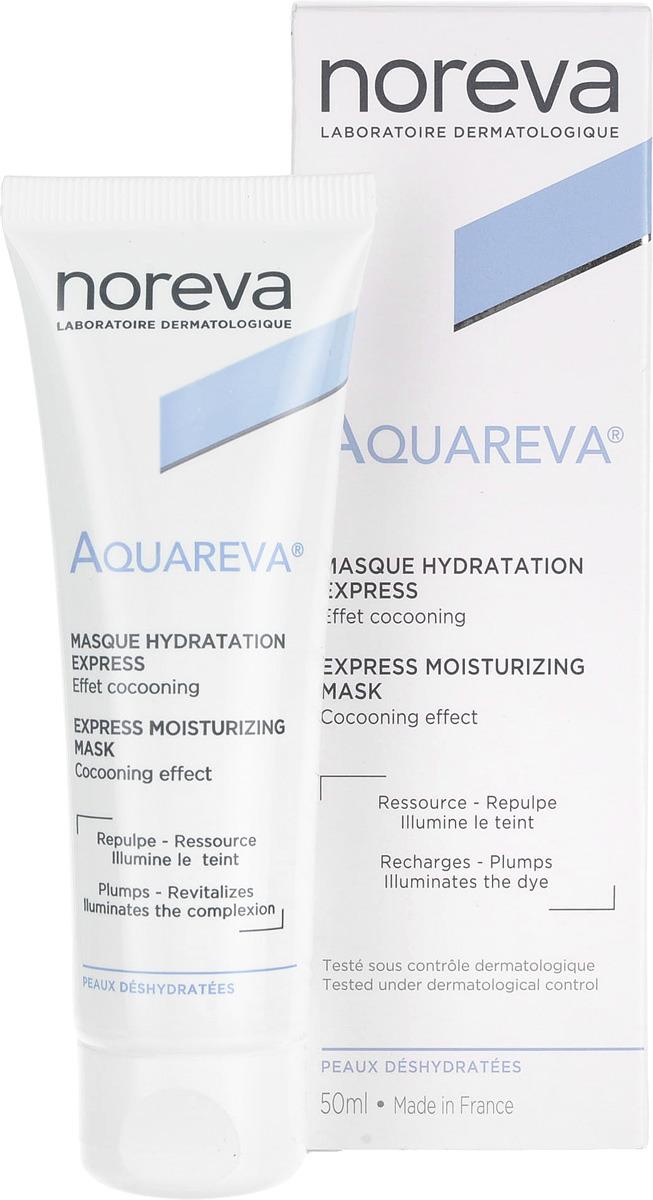 Экспресс-маска для лица Noreva Aquareva, увлажняющая, 50 мл цена