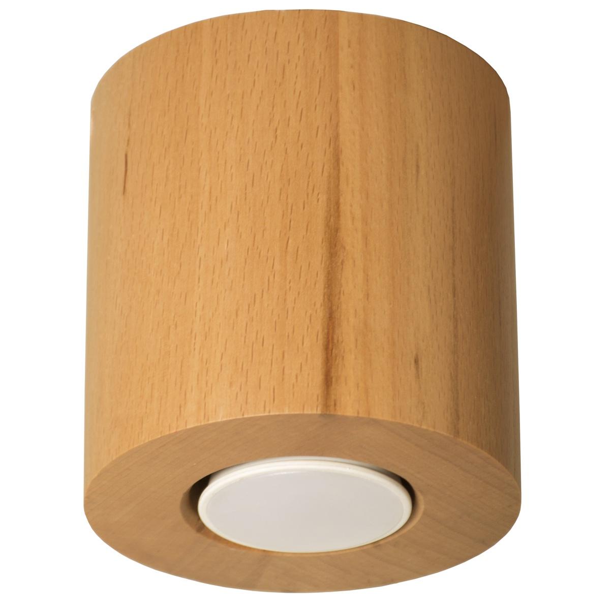 Потолочный светильник Дубравия Светильник потолочный Ротондо 1хGU10х40Вт, натуральный, 226-70-61 накладной светильник дубравия кватро 225 70 61
