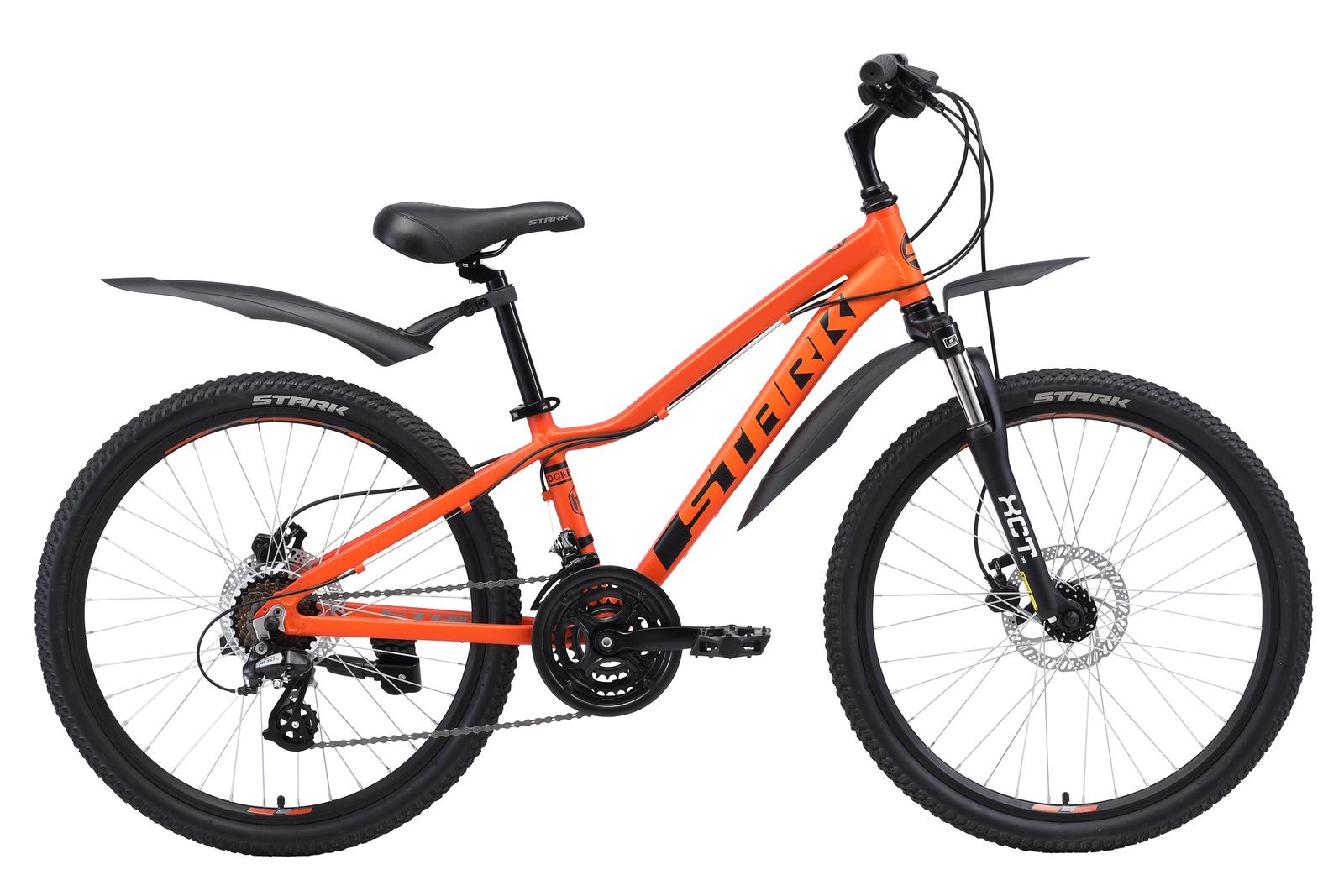 цены на Велосипед Rocket 24.3 HD 2019, черный, оранжевый  в интернет-магазинах