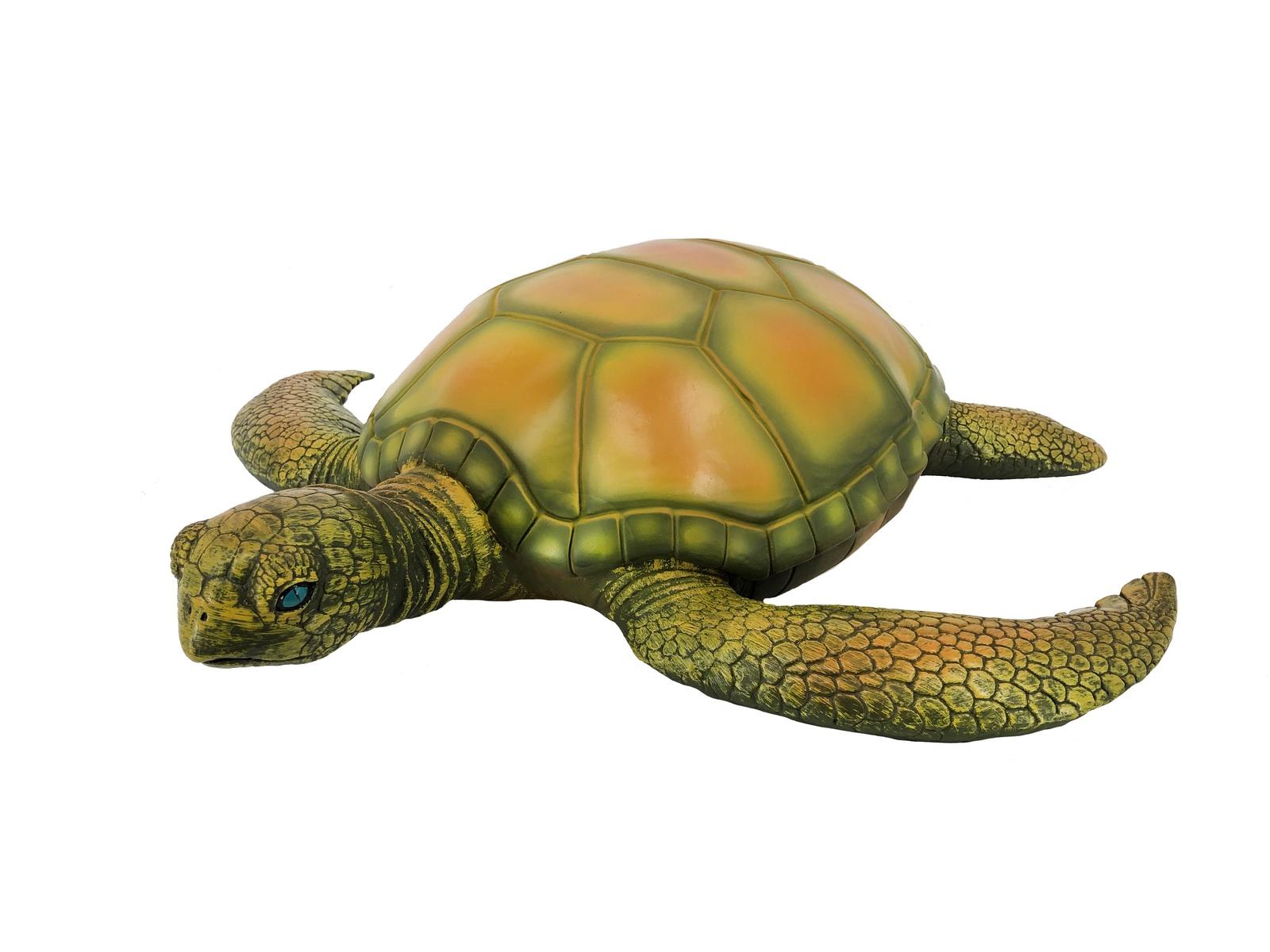 Фигурка АБВГДЕЙКА Черепаха 50 см, с мягкой набивкой