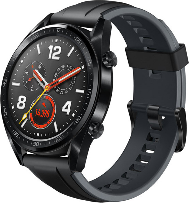 Умные часы Huawei Watch GT, черный huawei zero ss smart watch activity monitor bracelet support information view for samsung android apple ios cell phones