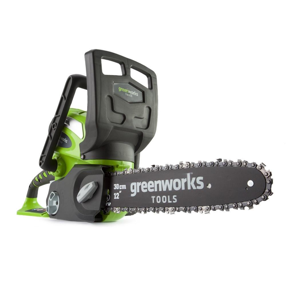 Цепная электропила Greenworks G40CS30 40V без АКБ и ЗУ цепная электропила sturm 4603010030805