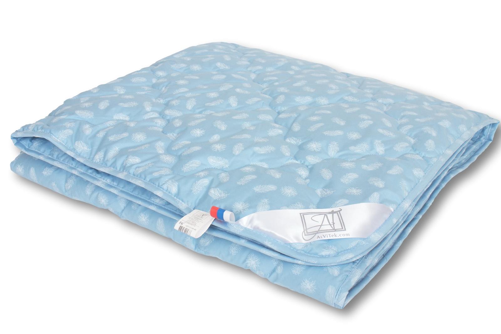 """Одеяло Альвитек """"Лебяжий пух"""" легкое, размер: 140 х 205"""