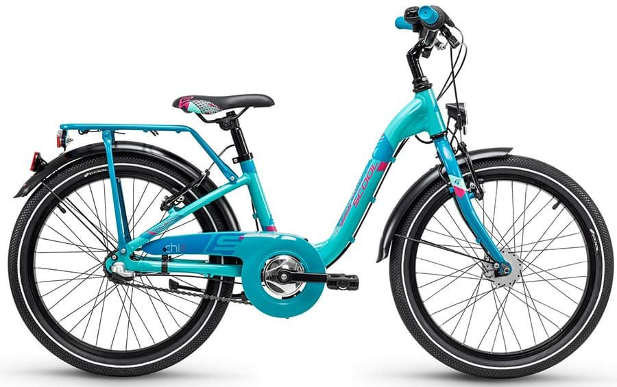 Велосипед Scool 6102, голубой