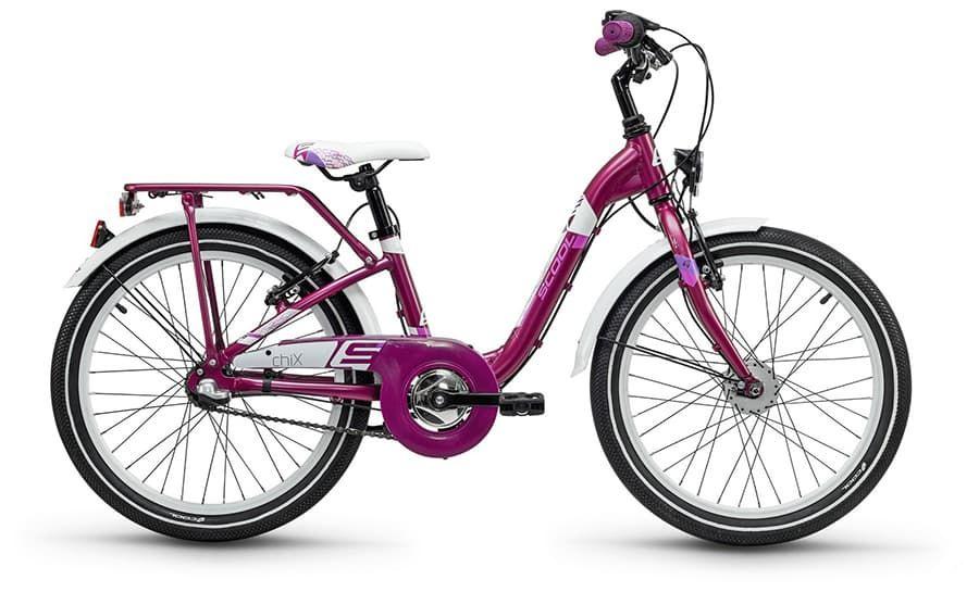 цены на Велосипед Scool Chix 6103, фиолетовый  в интернет-магазинах