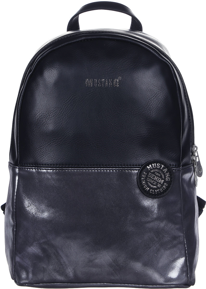 Рюкзак женский Mustang Bennsville Joyce Backpack Mvz, 4100000154-900, черный рюкзак женский adidas backpack xs цвет черный dv0212