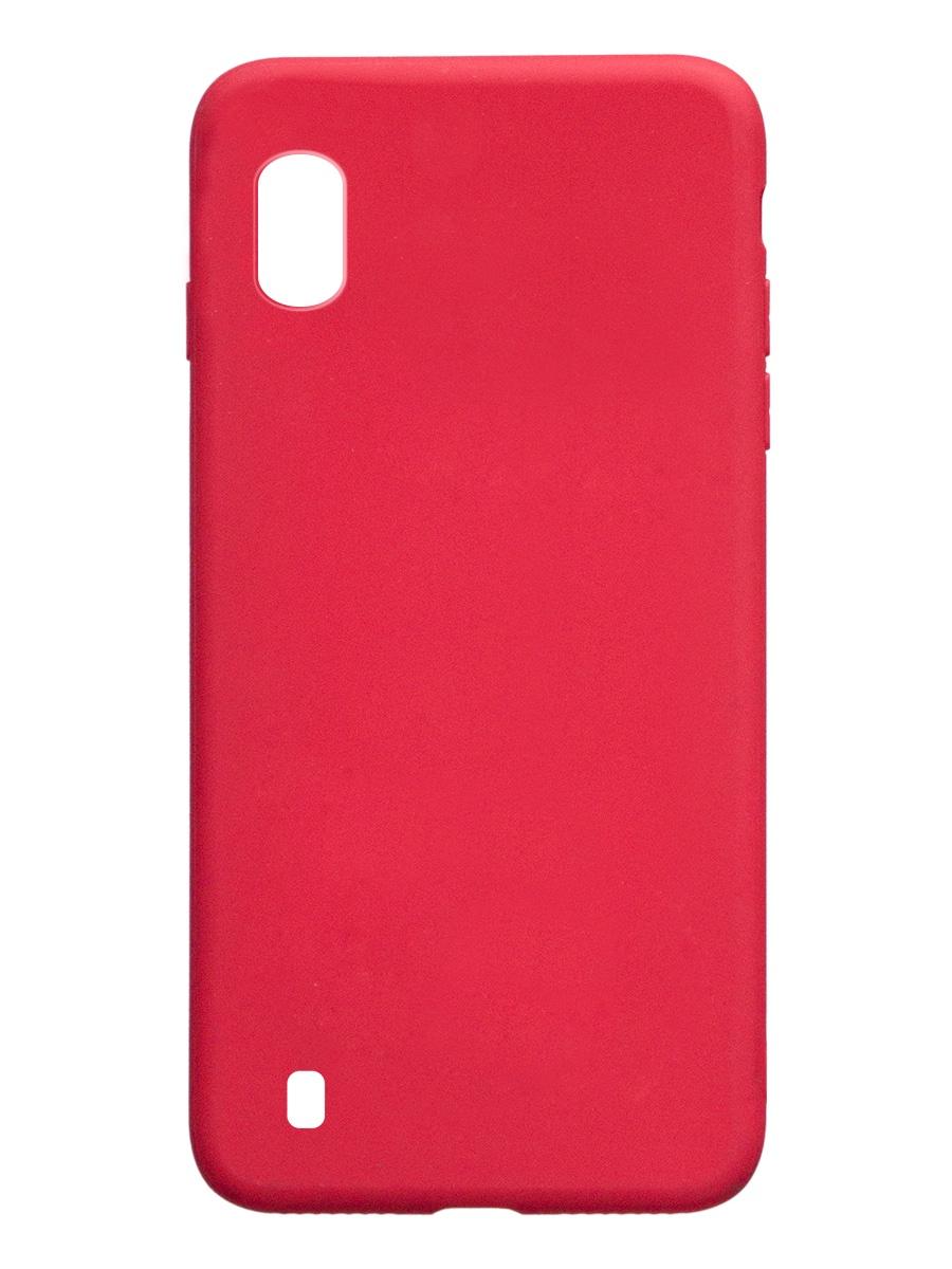 Чехол ТПУ Onext для телефона Samsung Galaxy A10 (2019), красный