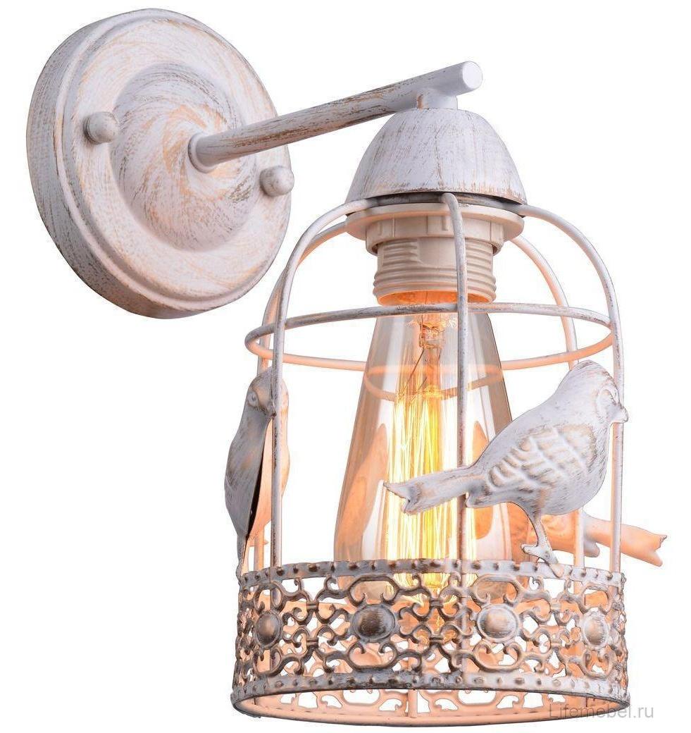 Бра Arte Lamp A5090AP-1WG, E27, 40 Вт