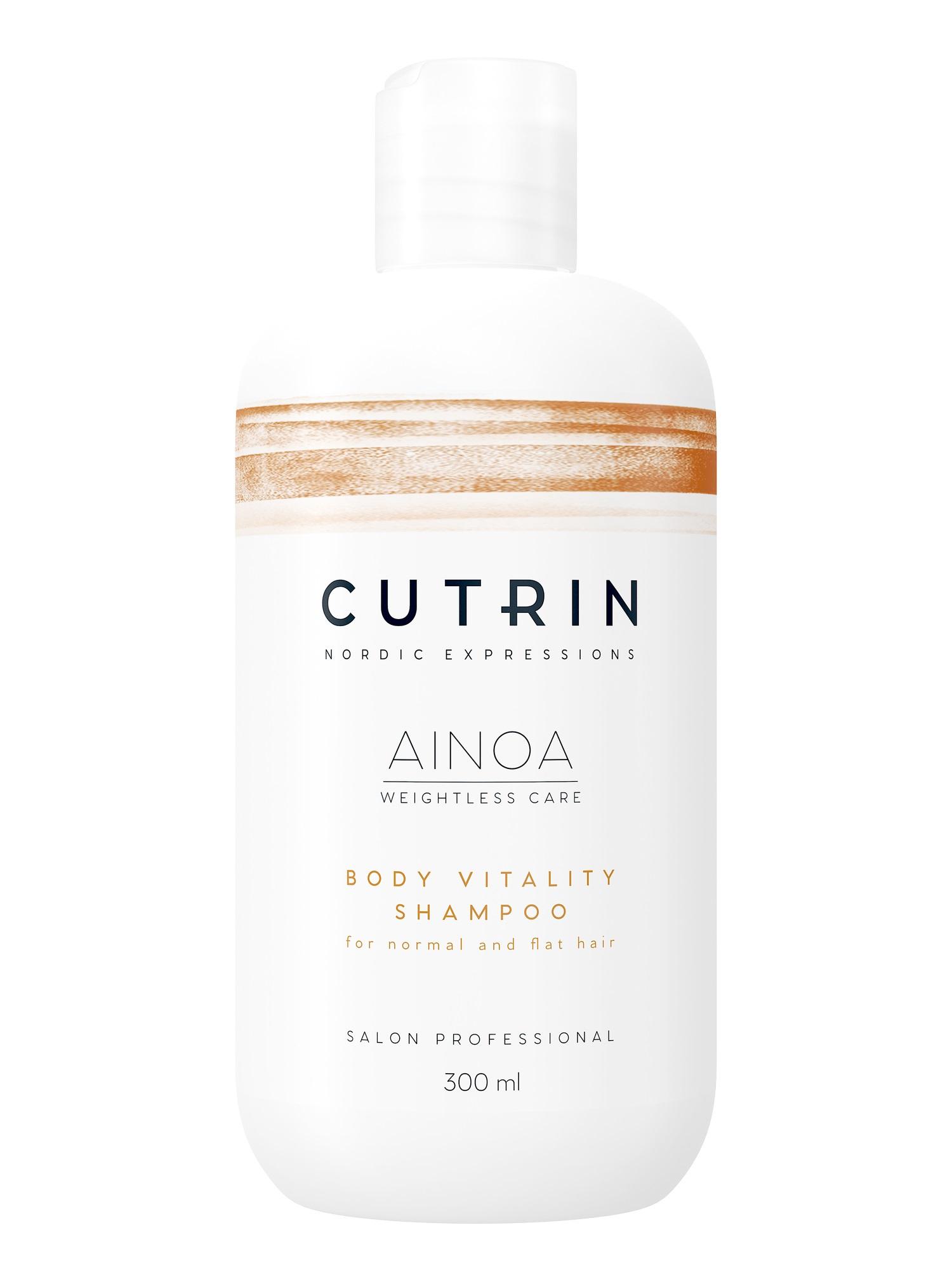 Шампунь для волос CUTRIN AINOA для укрепления волос body vitality 300 мл cutrin шампунь для волос и тела 300 мл