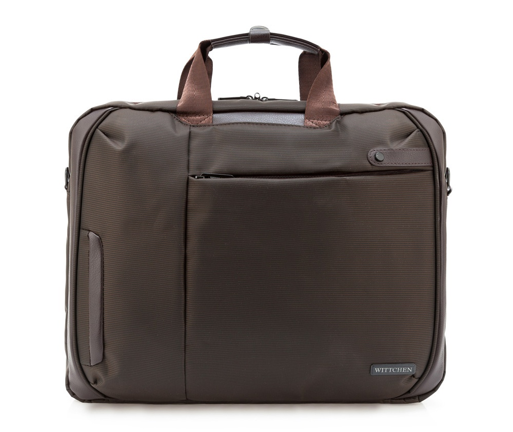 цена Сумка для ноутбука Wittchen 84-3P-102, коричневый онлайн в 2017 году