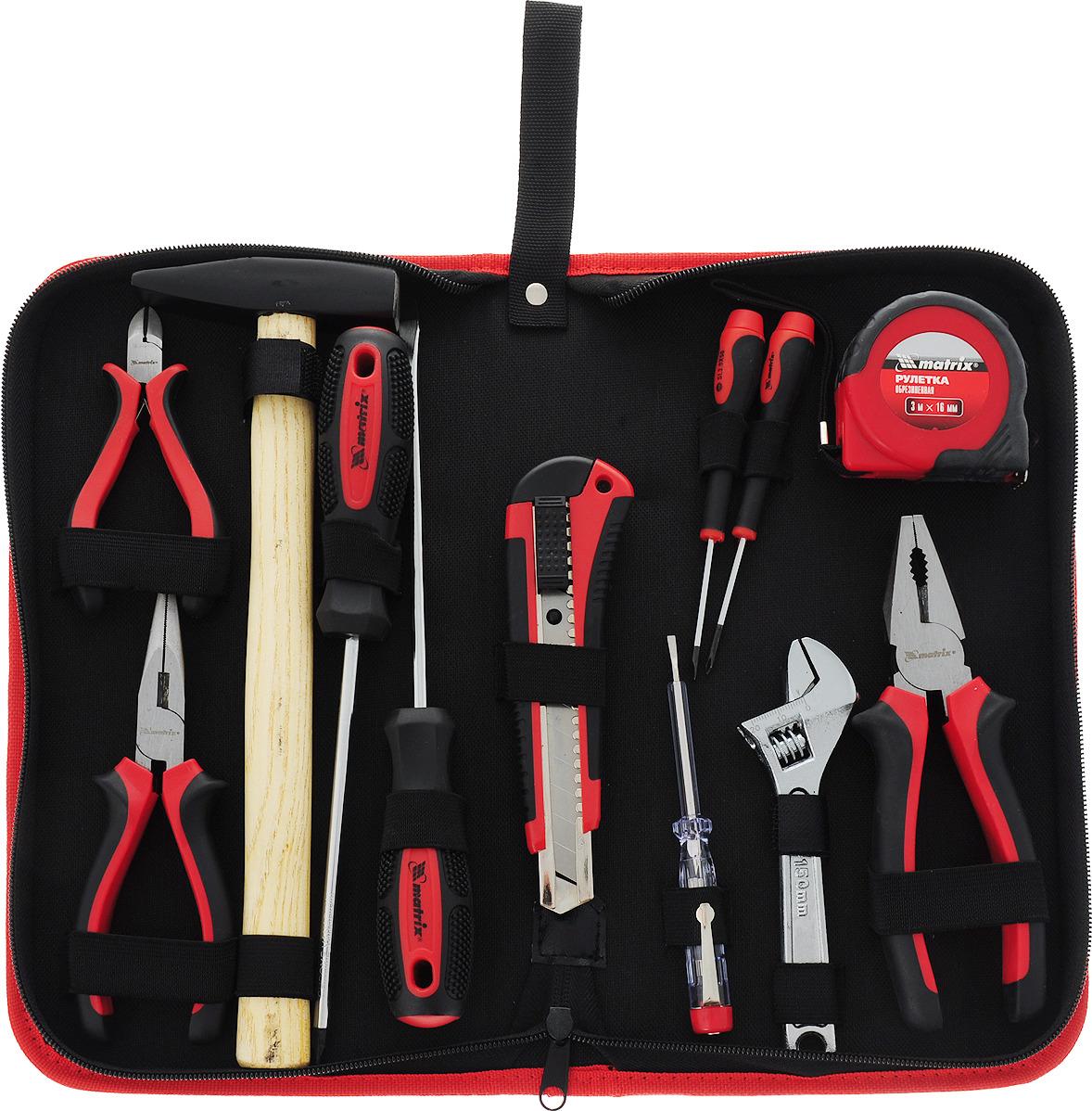 Набор слесарно-монтажный Matrix, 12 предметов набор инструментов matrix 13561