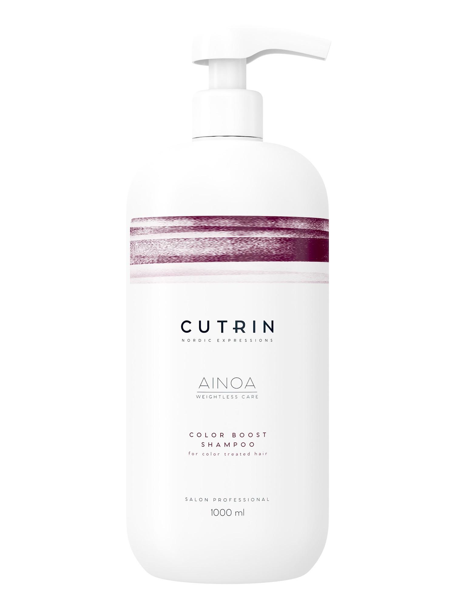 Шампунь для волос CUTRIN AINOA для сохранения цвета color boost 1000 мл