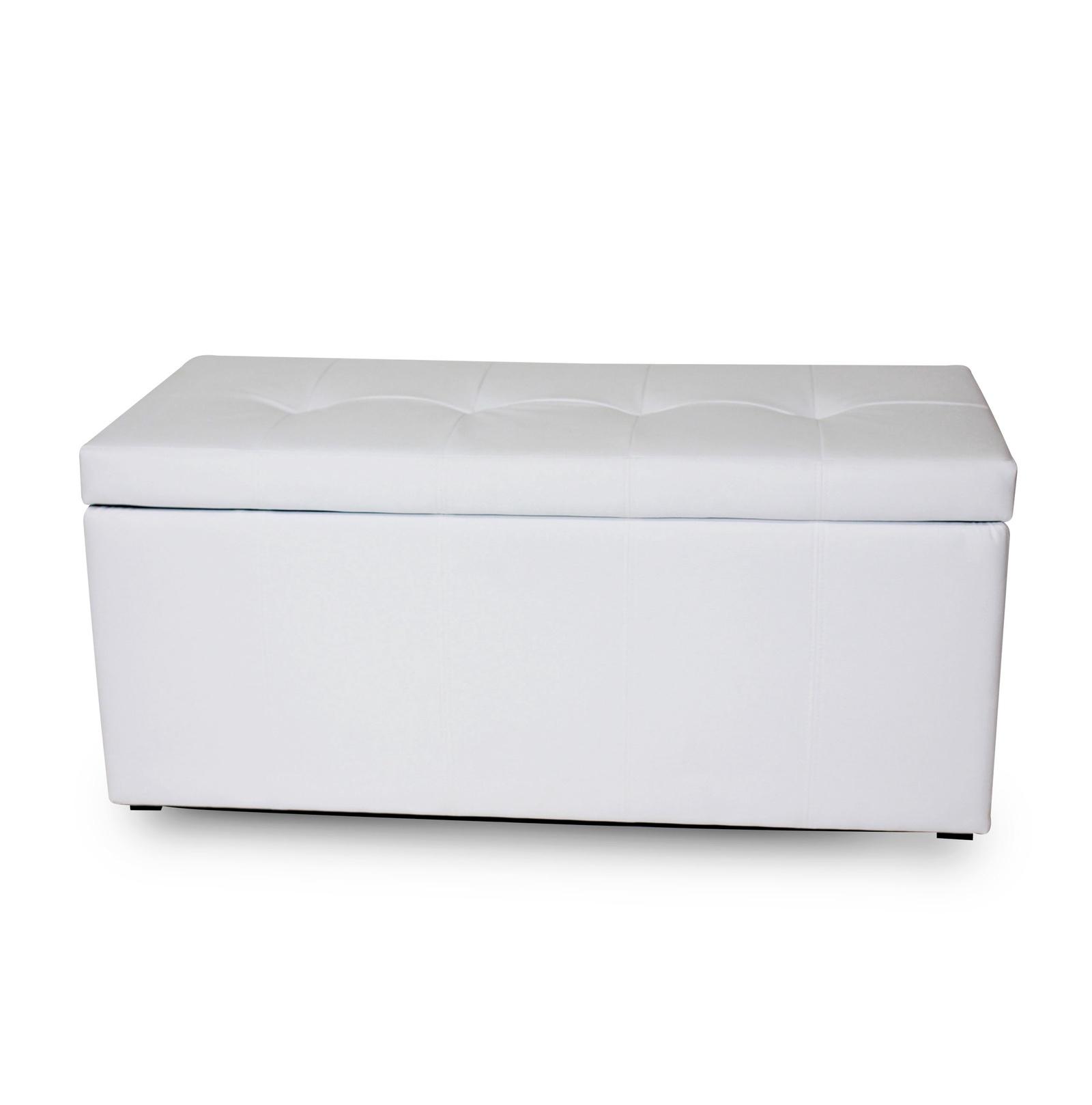 Банкетка DreamBag Лонг, белый