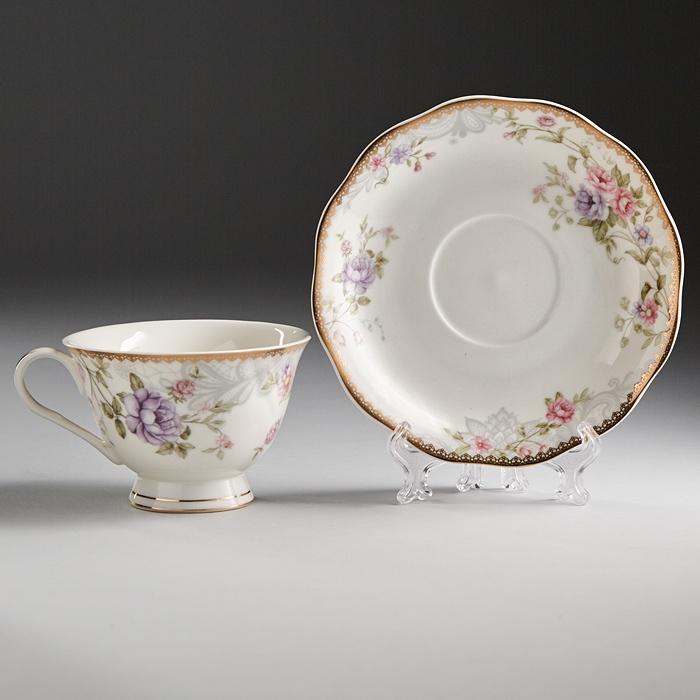 Набор чайный Beatrix 6 персон, 12 предметов 240 мл