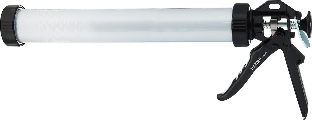 Пистолет для герметика Harden, профессиональный, закрытый, 620419, 228 мм шпатель harden 620204 профессиональный усиленный 100 мм