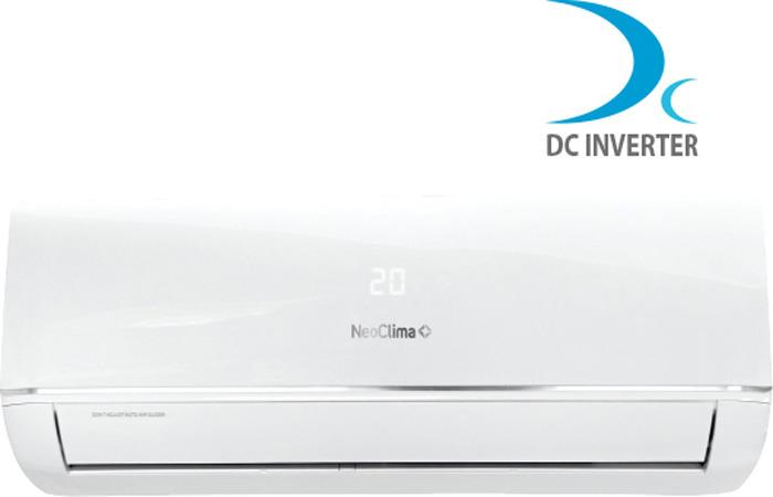 Сплит-система Neoclima NS/NU-HAX09RWI Inverter, белый