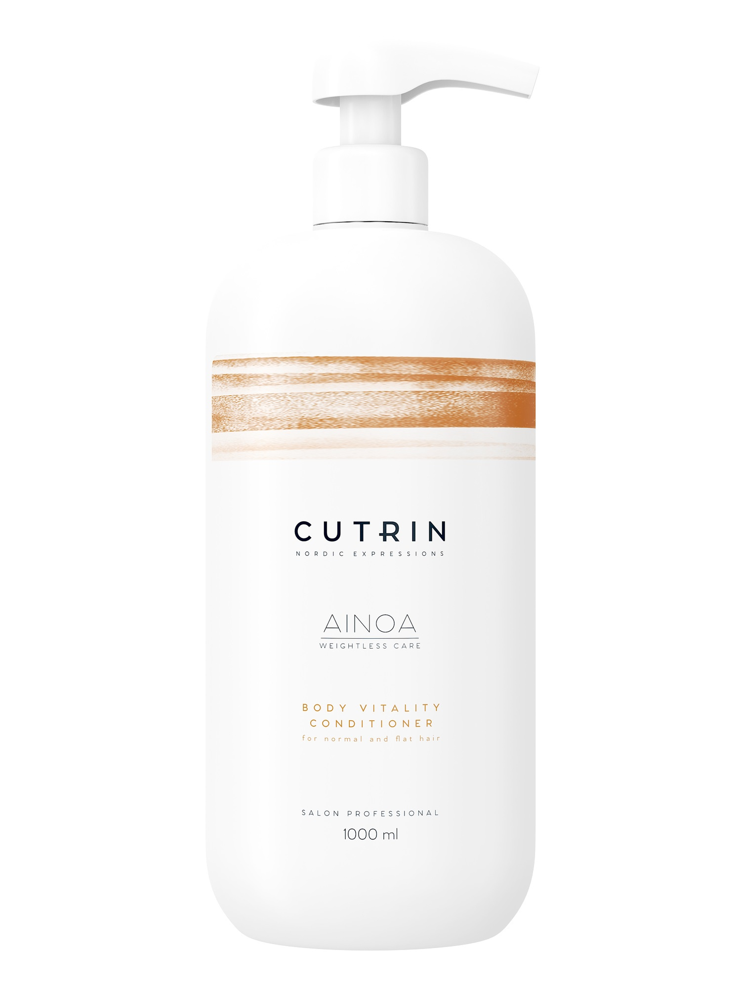 Кондиционер для волос CUTRIN AINOA для укрепления body vitality 1000 мл