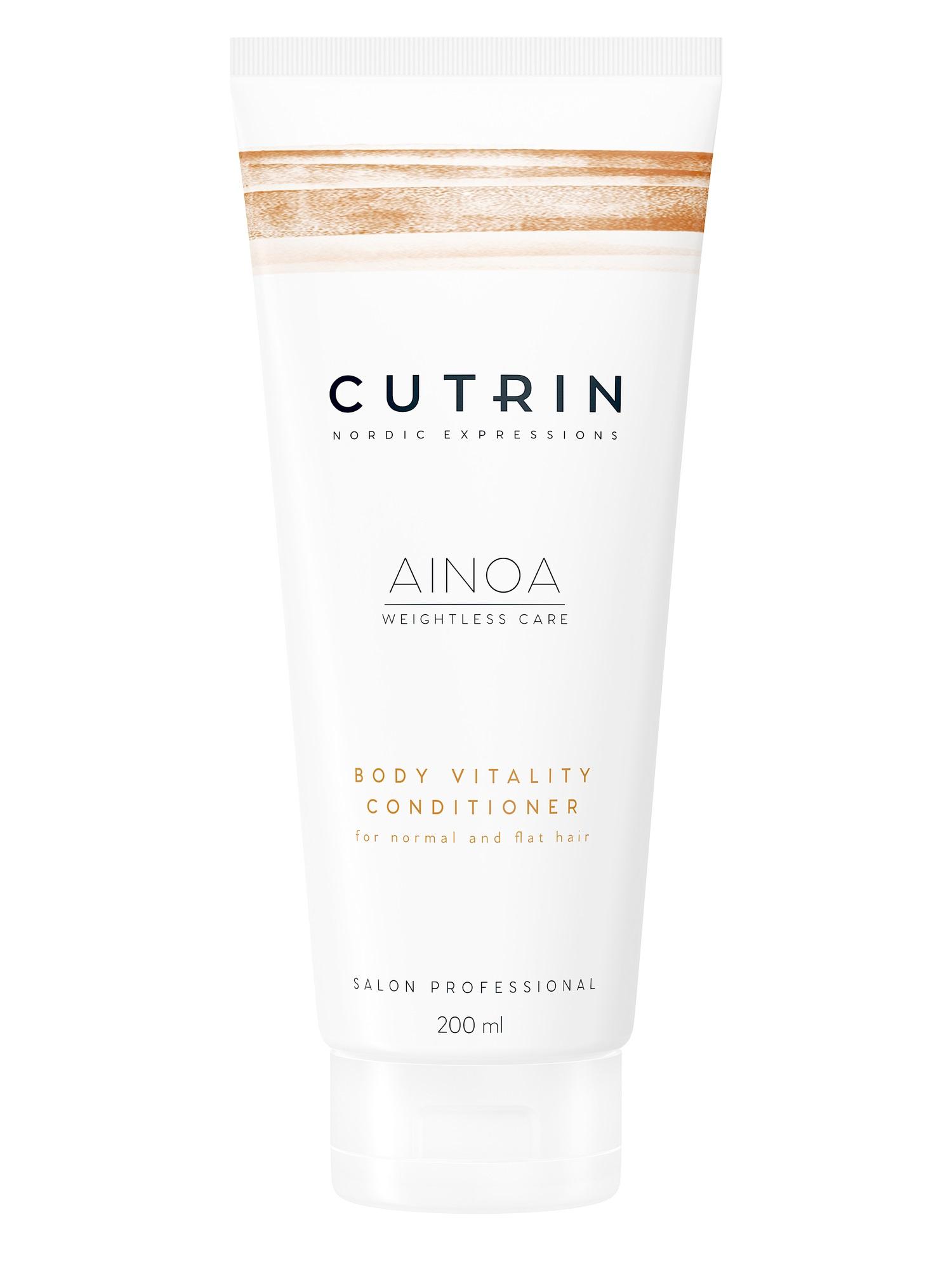 Кондиционер для волос CUTRIN AINOA для укрепления body vitality 200 мл
