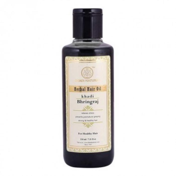 Масло для волос Khadi Natural для роста волос Брингарадж