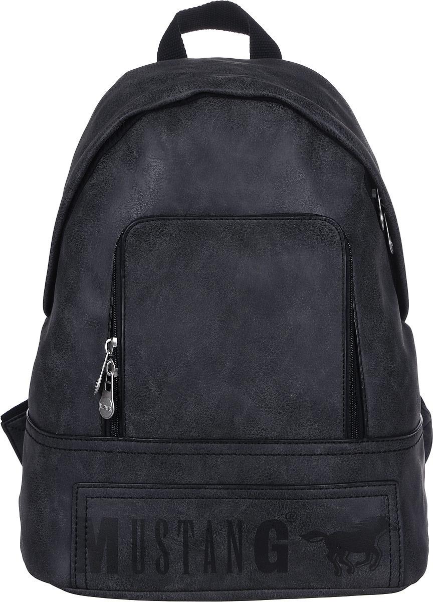 Рюкзак мужской Mustang Hamptons Noah Backpack Lvz, 4100000169-900, черный рюкзак adidas harden backpack dw4716 черный