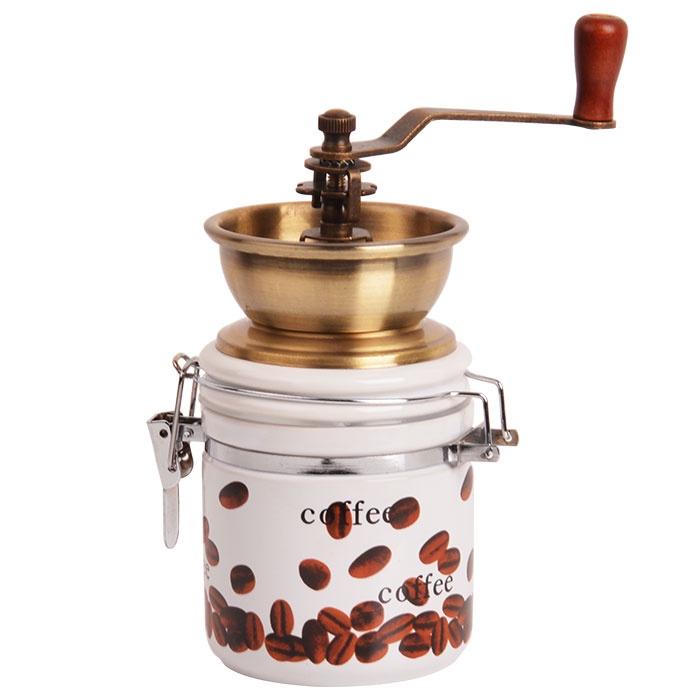 Кофемолка ручная ALPENKOK керамич.жернова, регулировка помола