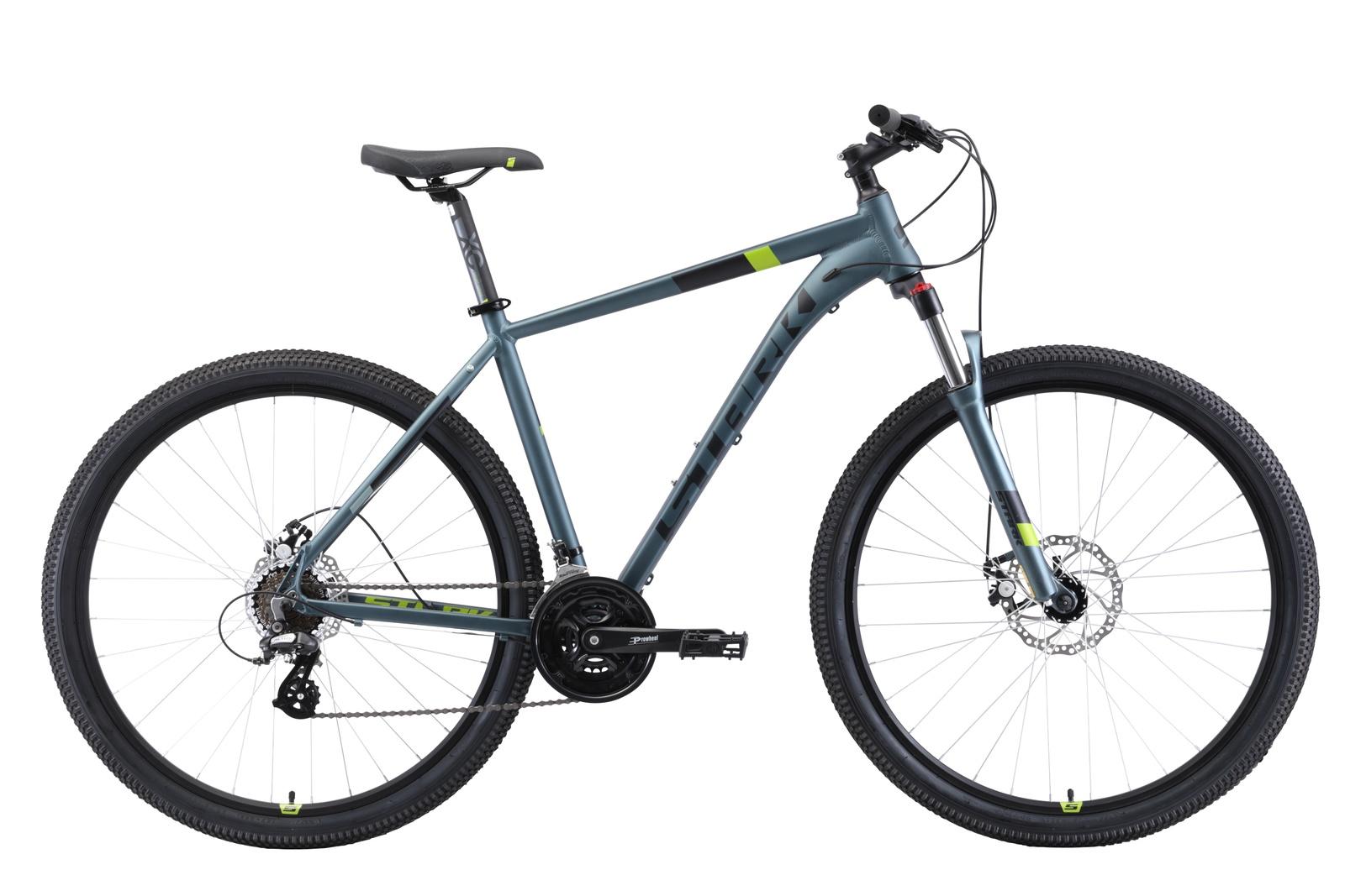 Велосипед Router 29.3 D 22 2019, черный, серый, зеленый