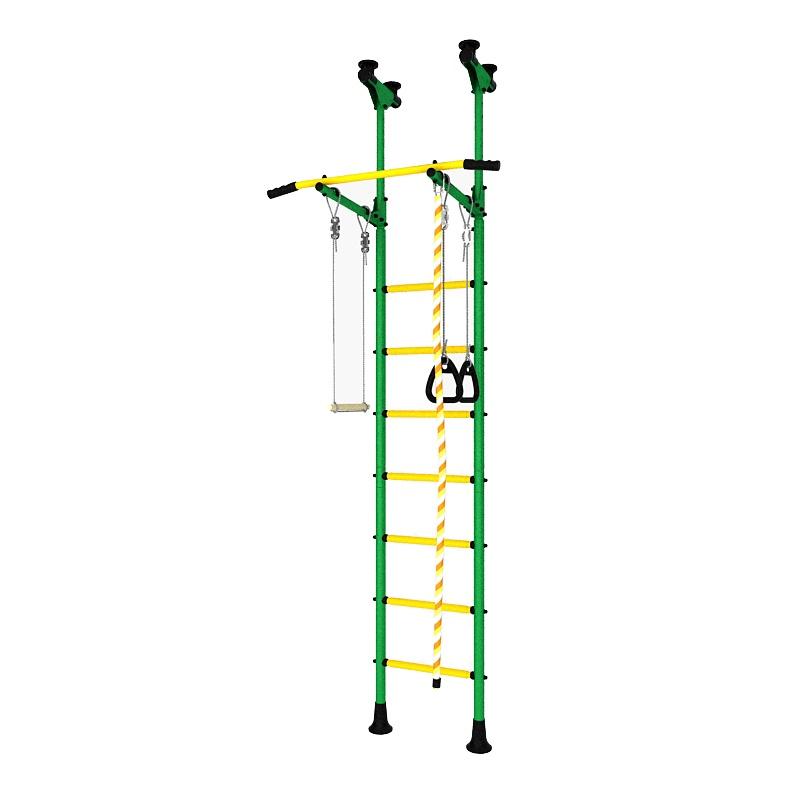 Детский спортивный комплекс DSK Распорный зеленый/желтый детский спортивный комплекс маугли 02 02 зеленый желтый