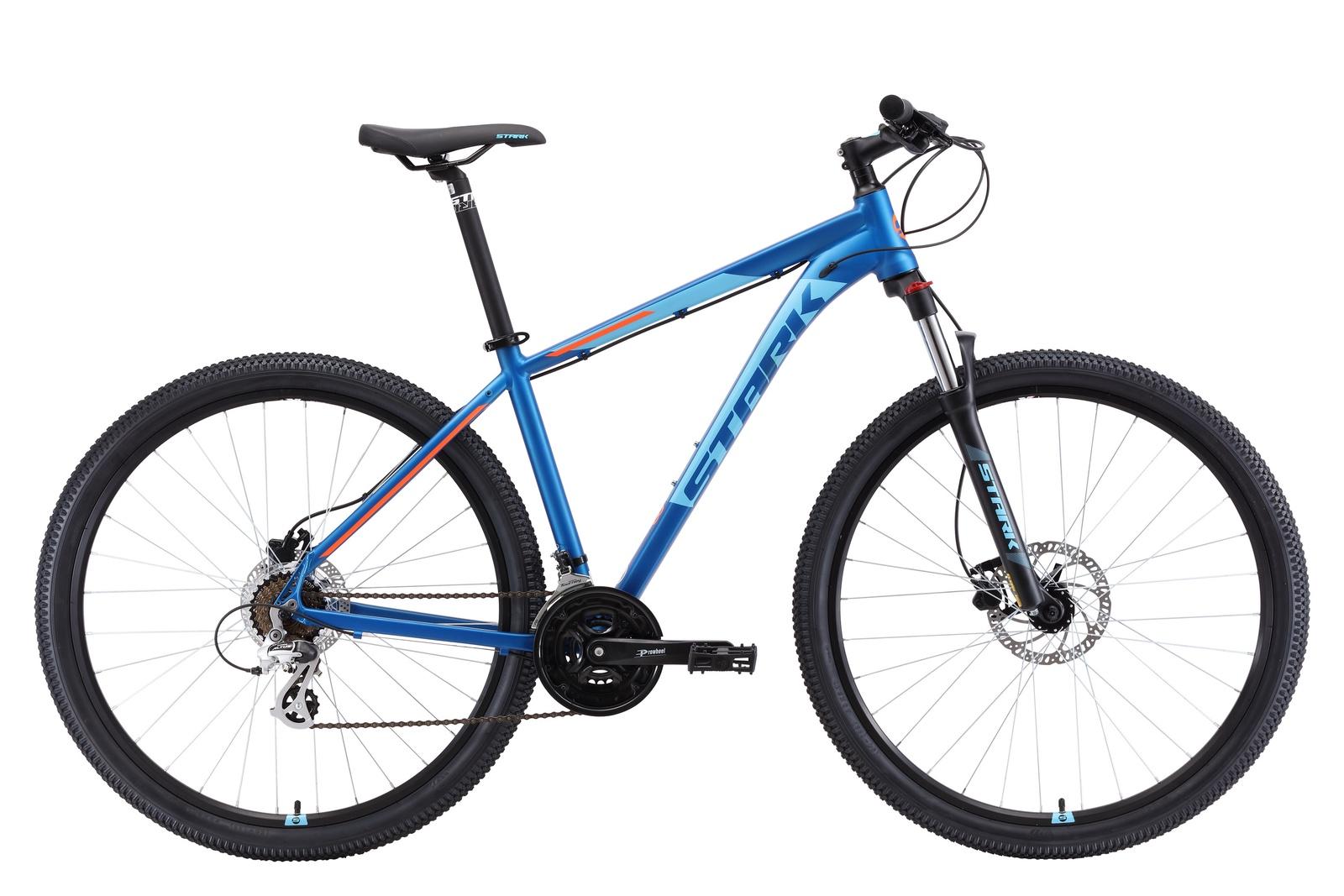 Велосипед Router 29.3 HD 20 2019, черный, голубой, оранжевый