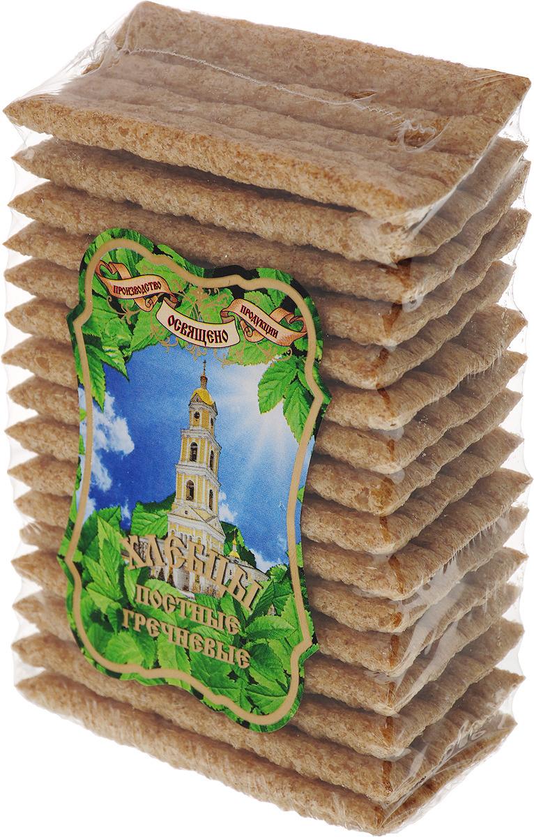 Хлебцы гречневые ХРУСтёпка Постные, 80 г