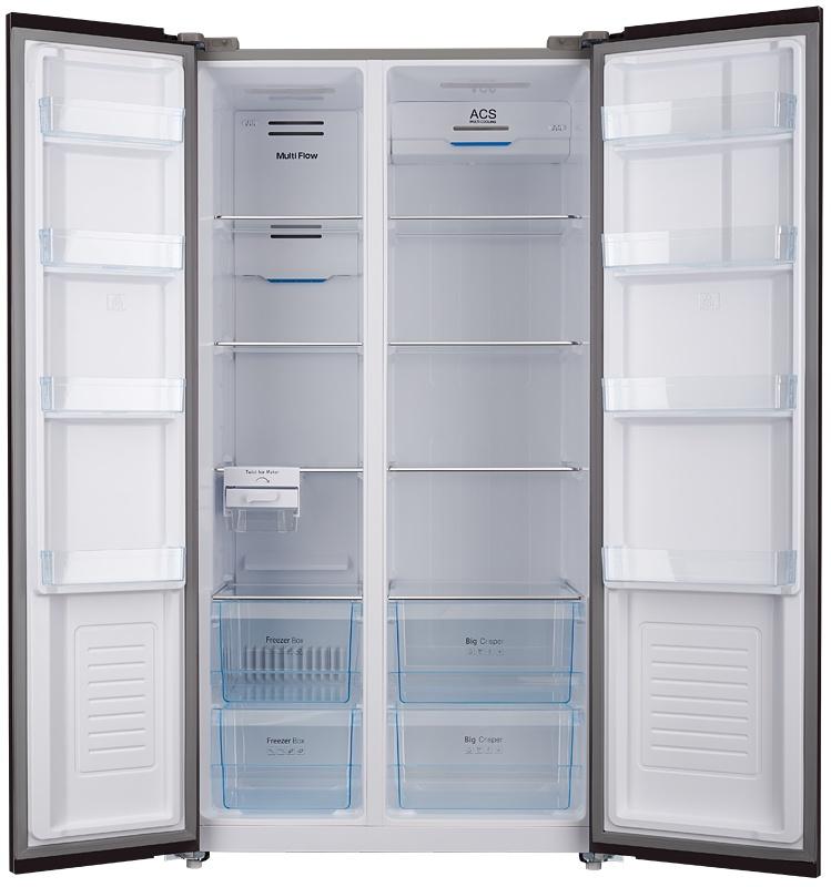 Холодильник  NSFT 195902 X, серый металлик Прибор оснащен системой охлаждения No Frost и не требует разморозки...
