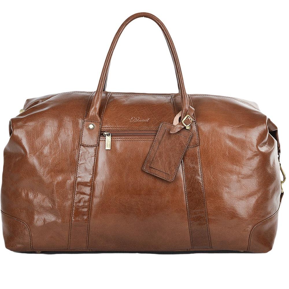 купить Сумка дорожная Ashwood Leather Lewis, светло-коричневый по цене 22200 рублей