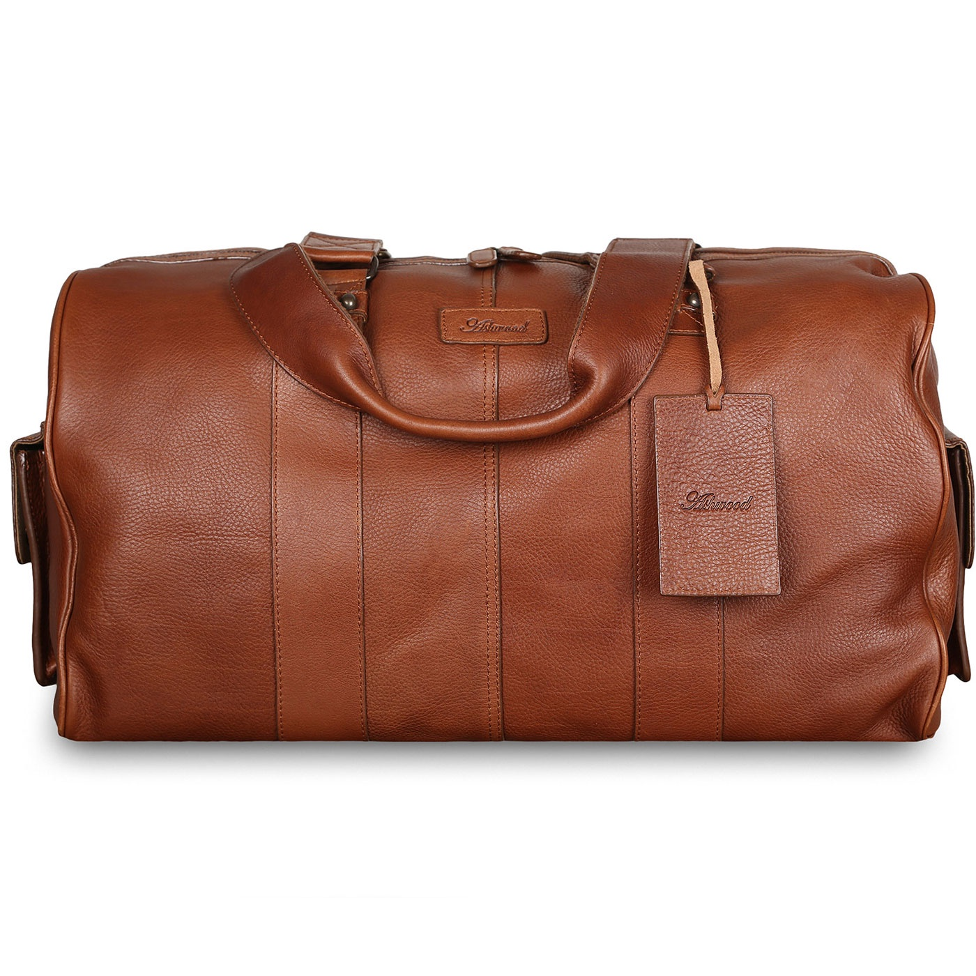 Сумка дорожная Ashwood Leather Humphrey, светло-коричневый