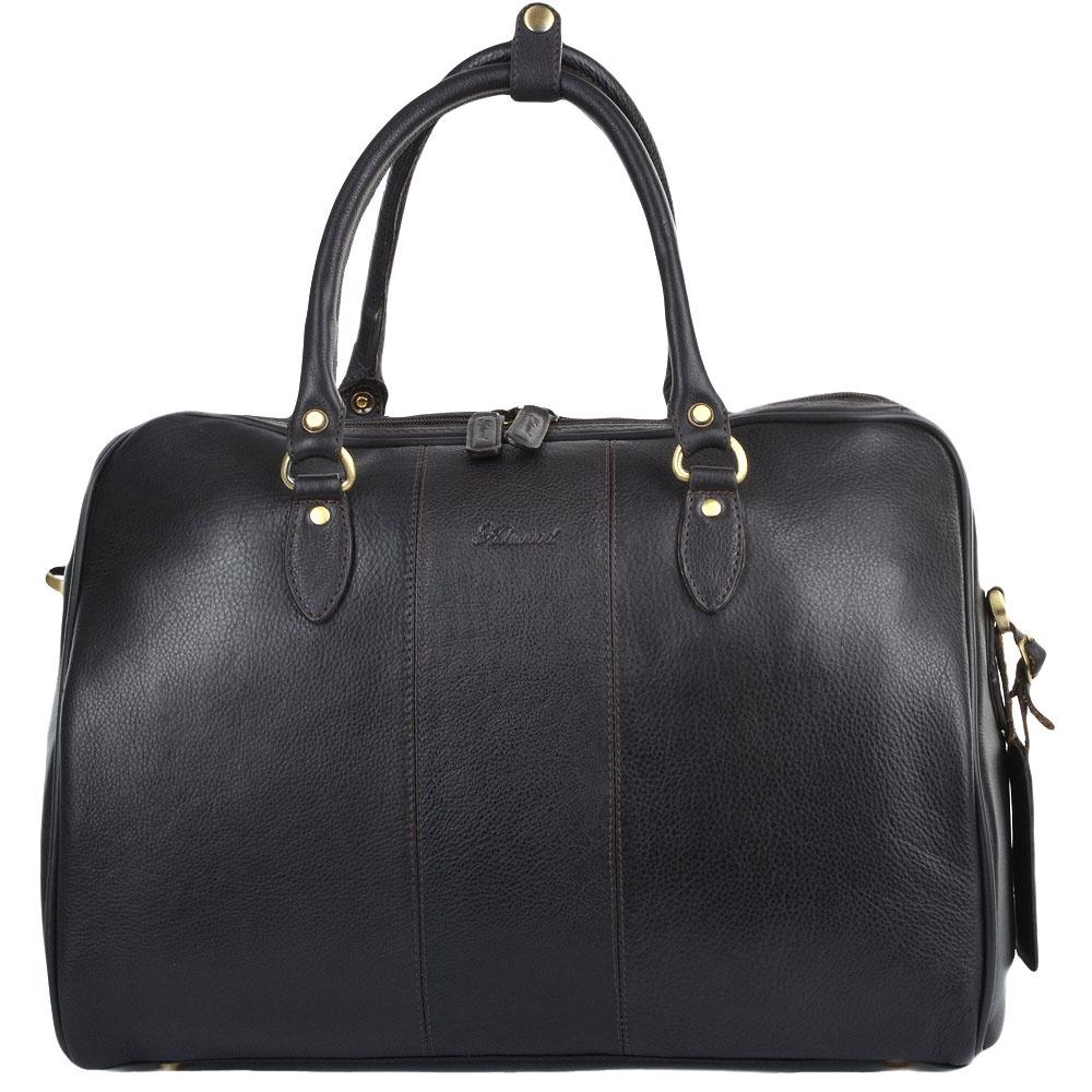 купить Сумка дорожная Ashwood Leather Harry, темно-коричневый по цене 16200 рублей
