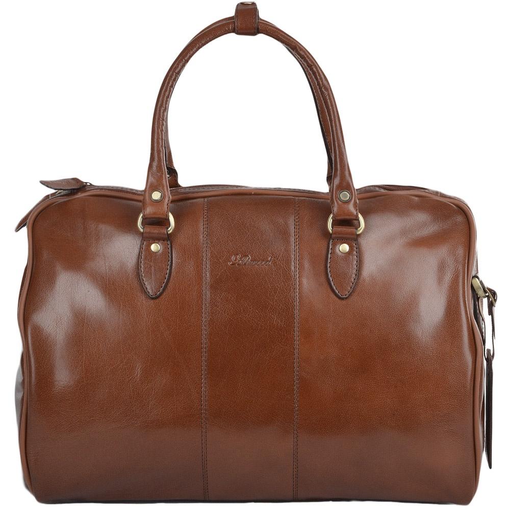купить Сумка дорожная Ashwood Leather Harry, светло-коричневый по цене 16200 рублей