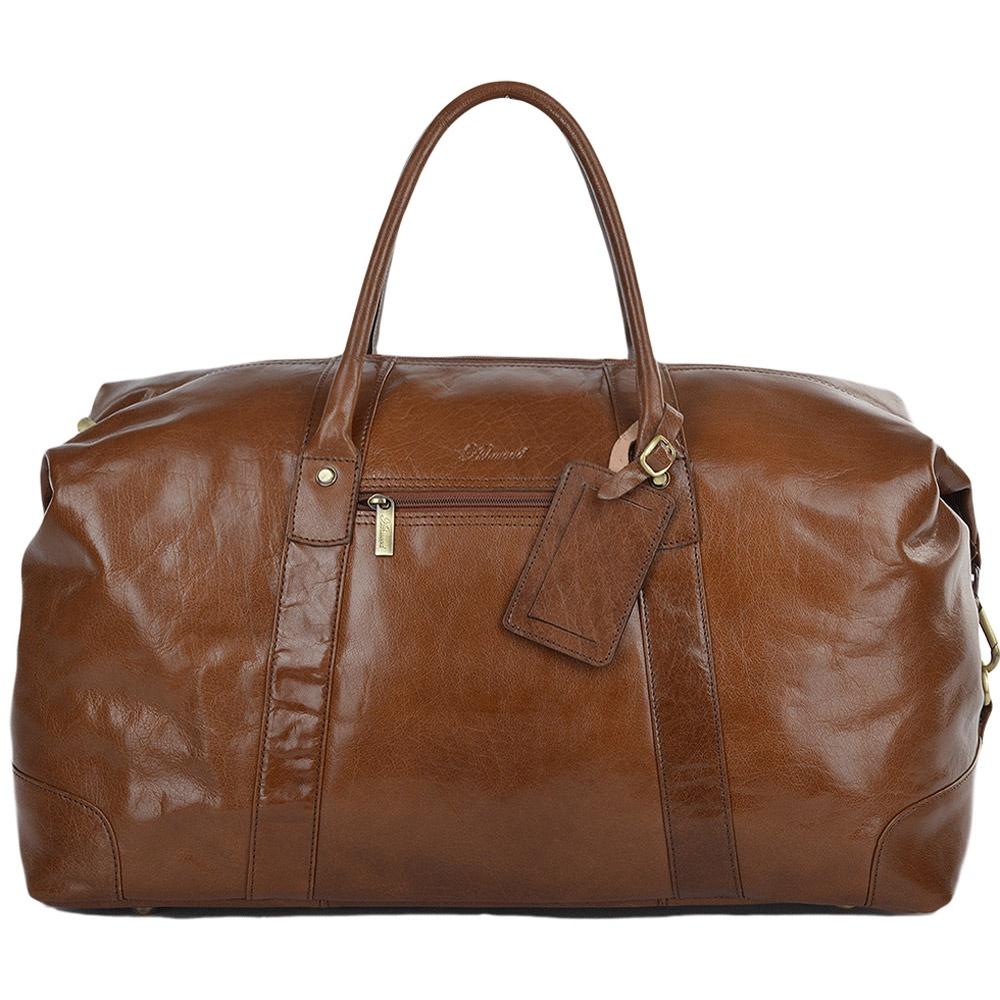 Сумка дорожная Ashwood Leather Harold, светло-коричневый