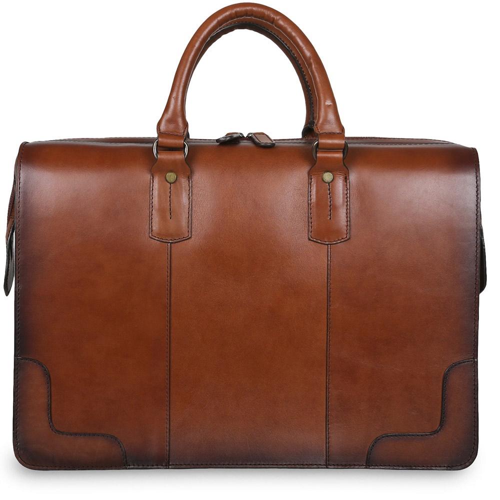 Сумка дорожная Ashwood Leather Dr.Bag, светло-коричневый