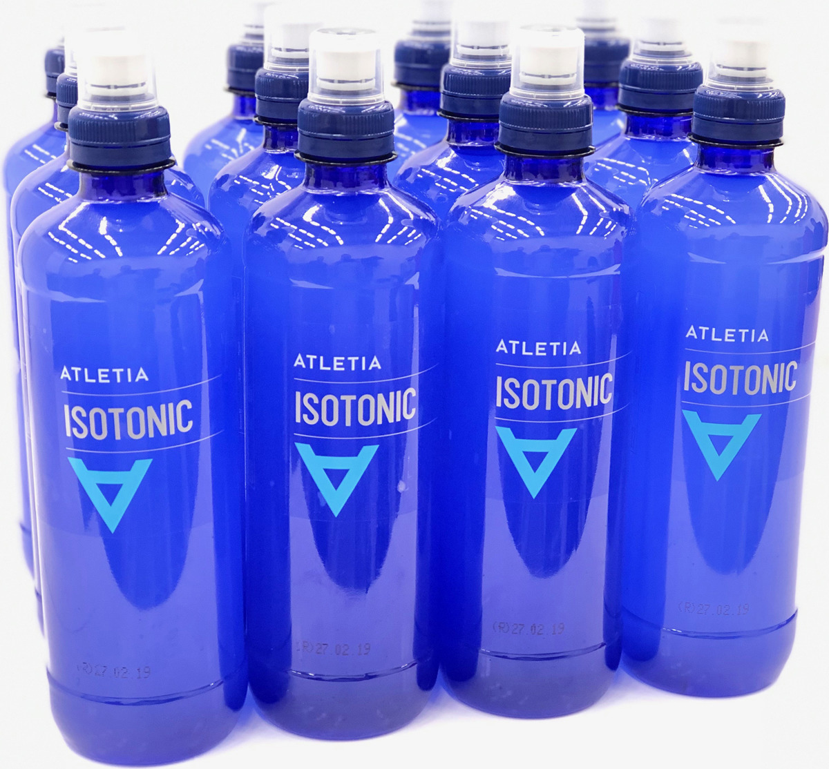 Изотоник Atletia Isotonic, 12 шт по 500 мл напиток изотонический olimp iso plus powder лимон 700г