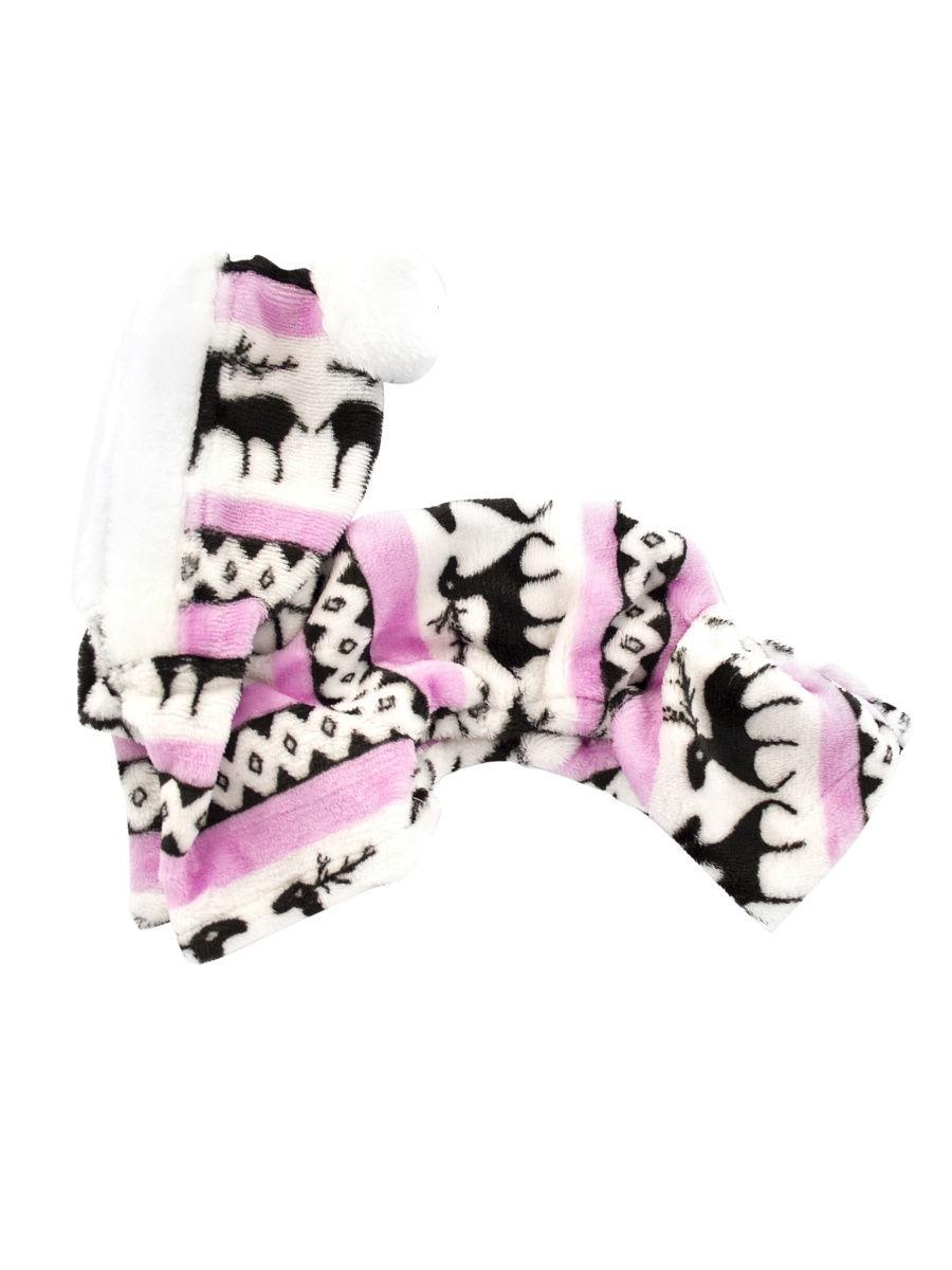 """Комбинезон для животных """"Северные олени"""" розовый P0017-11-S Удачная покупка"""