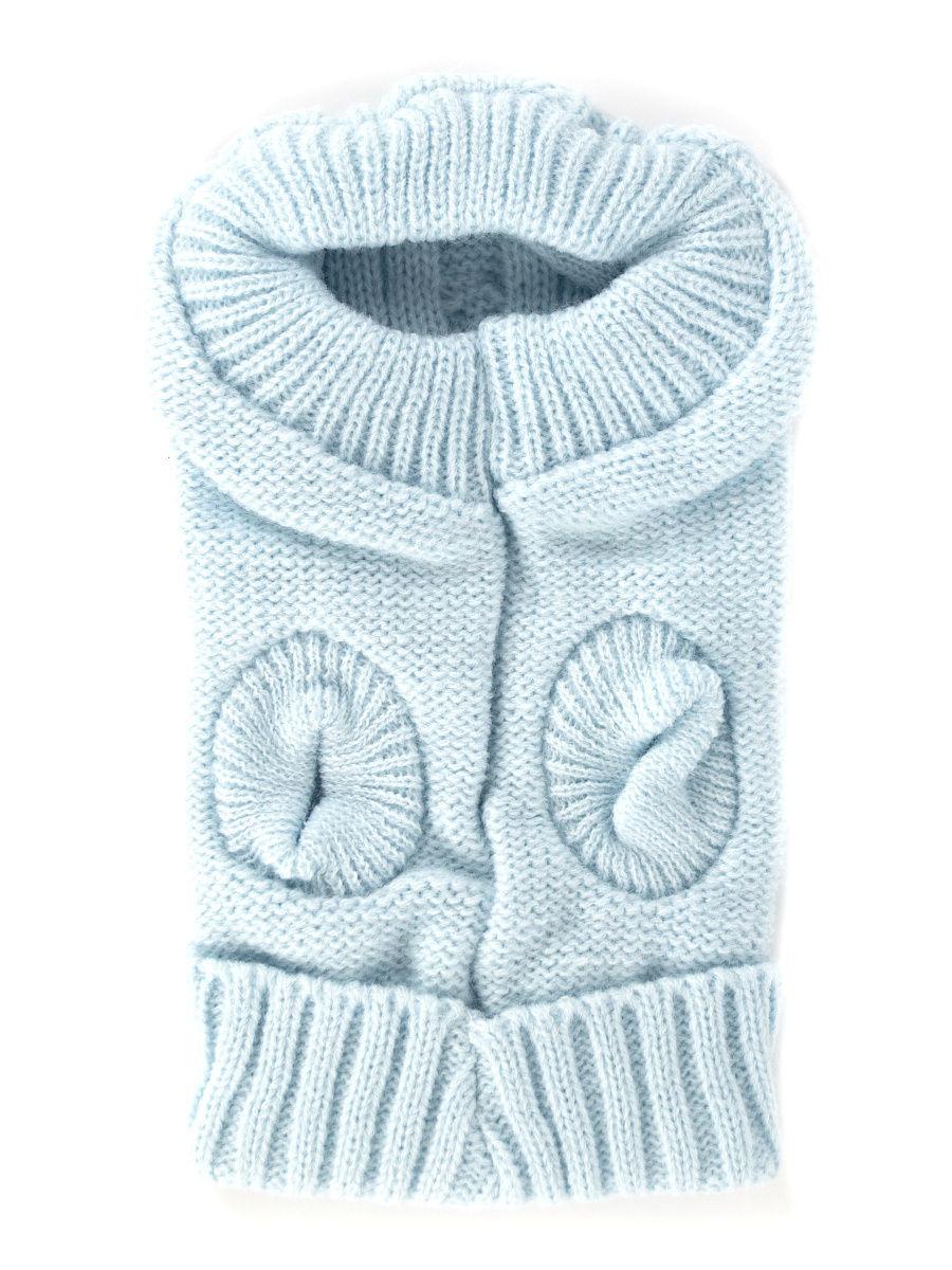 Комбинезон-свитер для животных голубой P0019-07-10 Удачная покупка